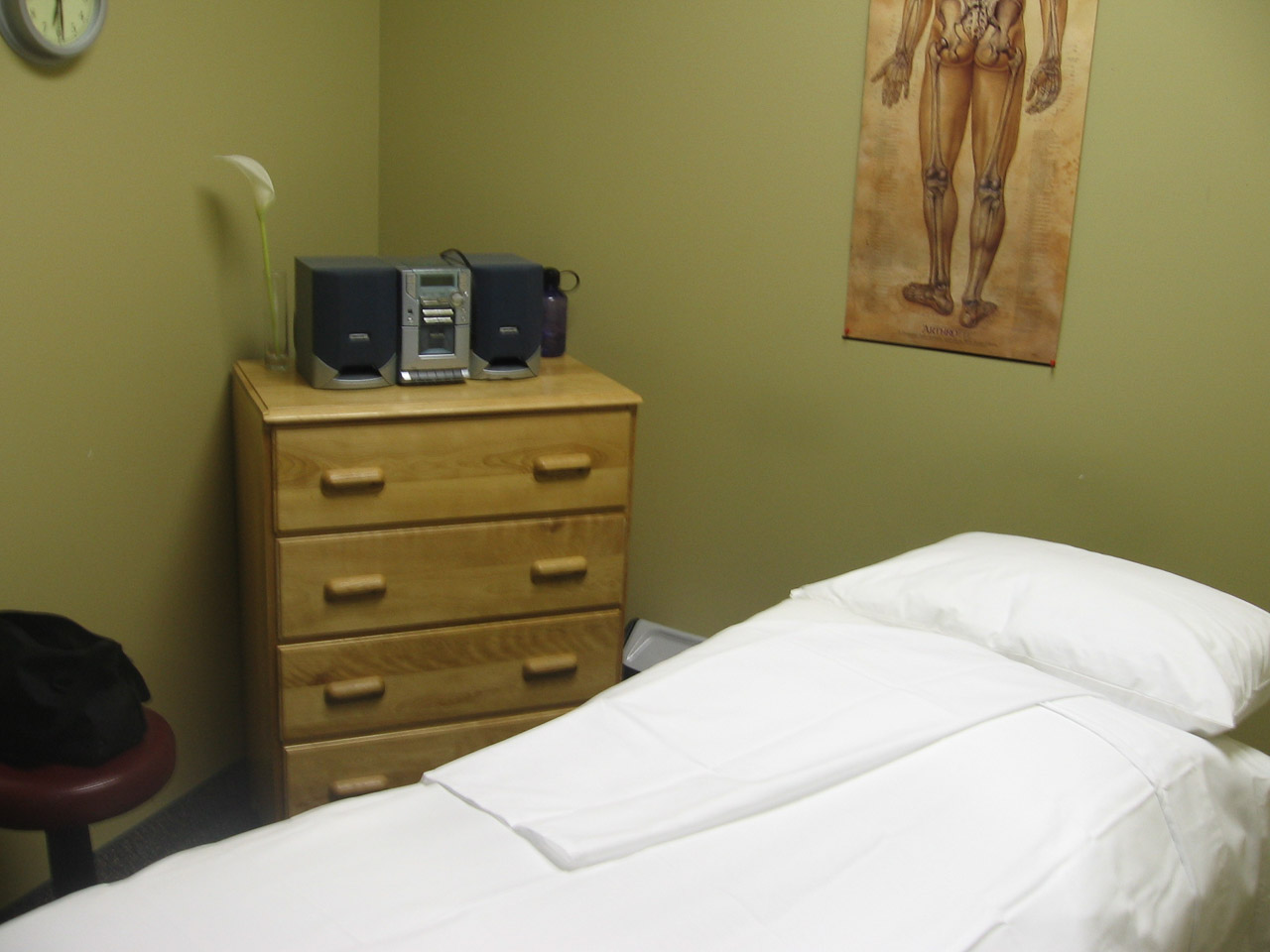 Confessions of a Massage Therapist Massage Therapy Clinic Room